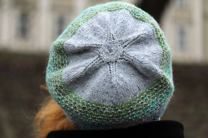 """Hand knitted, cozy, comfortable, soft hat """"Stitches"""""""