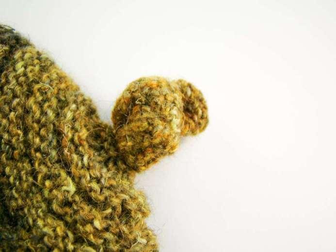 Original beautiful hand-knit hat